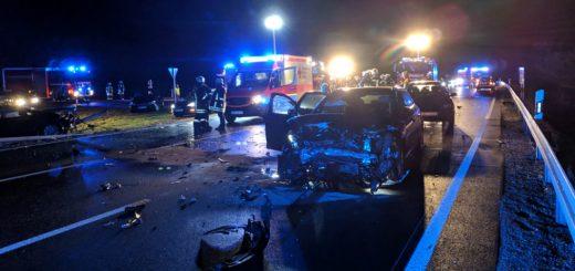 B2: Tödlicher Unfall bei Monheim-Süd