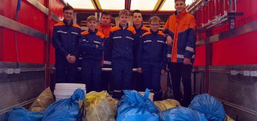 Am Samstag, den 13. April 2019, nahm die Jugendfeuerwehr Monheim bei der diesjährigen Müllsammelaktion des AWV Nordschwaben teil.