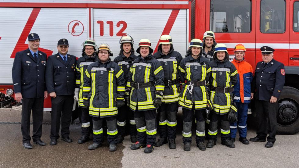 Gruppe 1 - Leistungsprüfung Löschen 2019