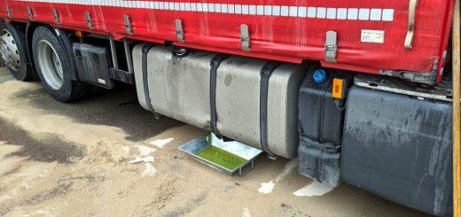 Diesel tritt aus Dieseltank aus